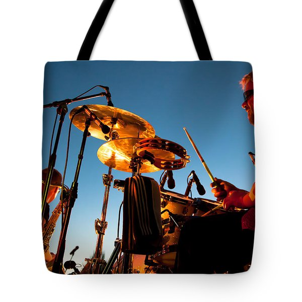 Cliff Miller and Dale Keeney - The Kingpins Tote Bag by David Patterson