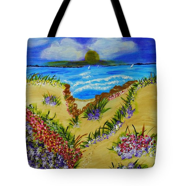 Cliff Notes Tote Bag by Celeste Manning