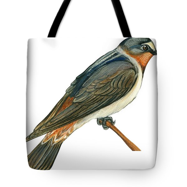 Cliff Swallow  Tote Bag by Anonymous