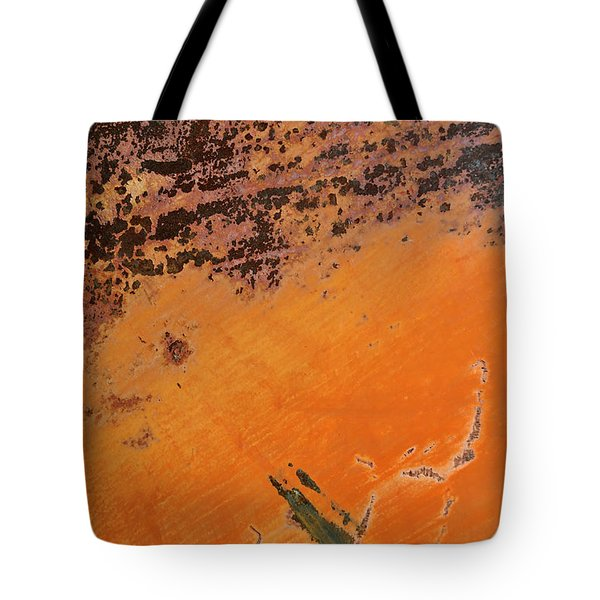 Cliffs Of Mars Tote Bag by Fran Riley