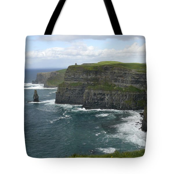 Cliffs Of Moher 3 Tote Bag by Mike McGlothlen