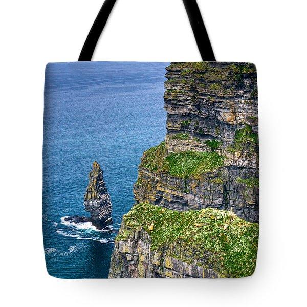 Cliffs Of Moher 41 Tote Bag by Douglas Barnett