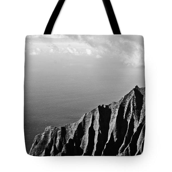 Cliffview Tote Bag by Christi Kraft