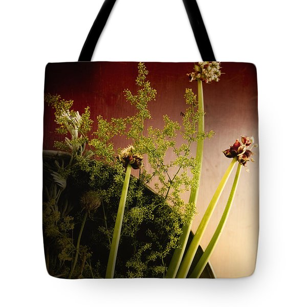 Clipped Stems Tote Bag by Margie Hurwich