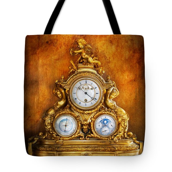 Clockmaker - Anyone Have The Time Tote Bag by Mike Savad