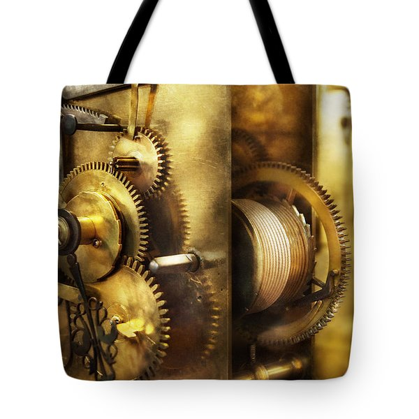 Clockmaker - We All Mesh Tote Bag by Mike Savad