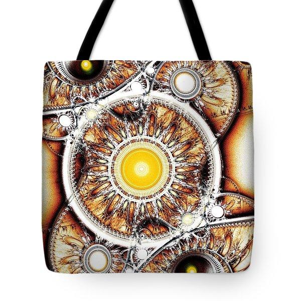 Clockwork Tote Bag by Anastasiya Malakhova