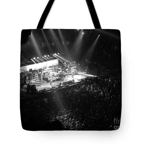 Closing the Spectrum Tote Bag by David Rucker
