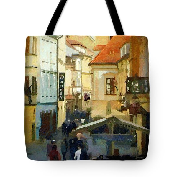 Closing Time Tote Bag by Jeff Kolker