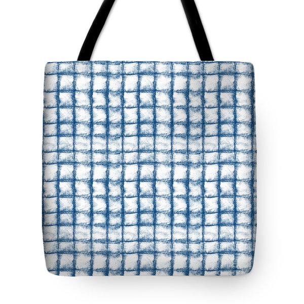 Cloud Boxes Tote Bag by Linda Woods