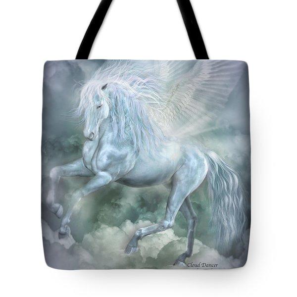 Cloud Dancer Tote Bag by Carol Cavalaris
