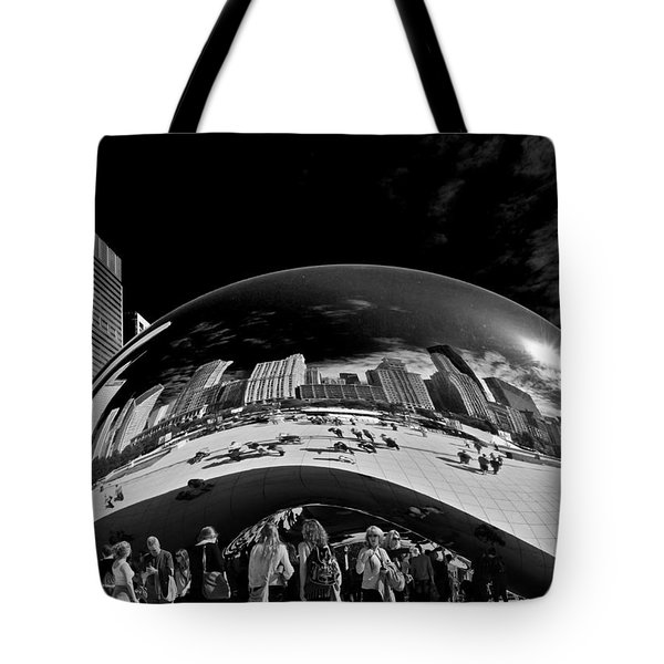 Cloud Gate Chicago - The Bean Tote Bag by Christine Till