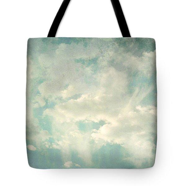 Cloud Series 1 of 6 Tote Bag by Brett Pfister