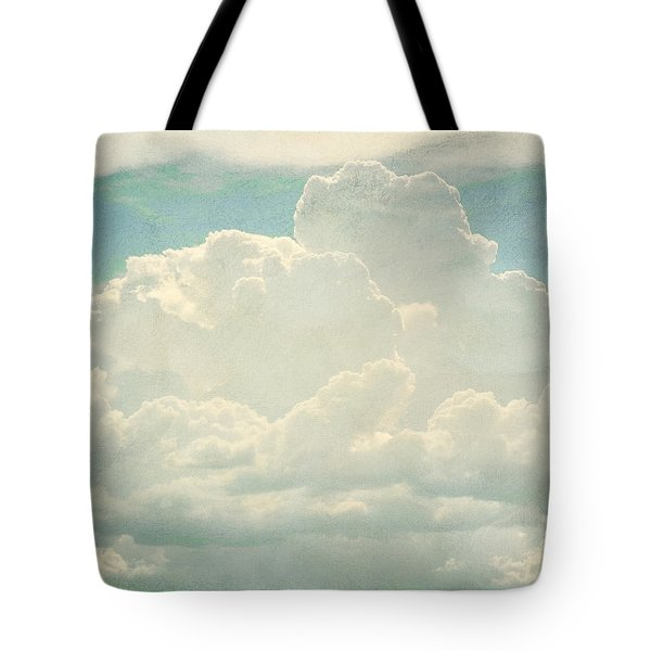 Cloud Series 2 Of 6 Tote Bag by Brett Pfister