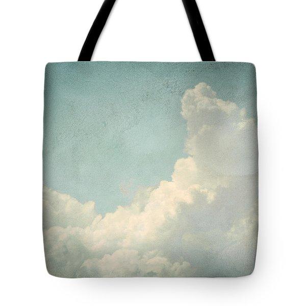Cloud Series 4 Of 6 Tote Bag by Brett Pfister