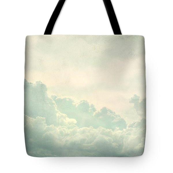 Cloud Series 5 Of 6 Tote Bag by Brett Pfister