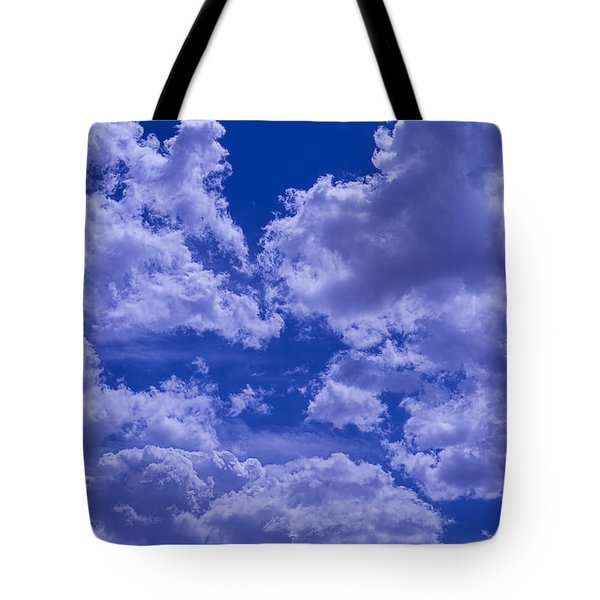 Cloud Watching Tote Bag by Garry Gay