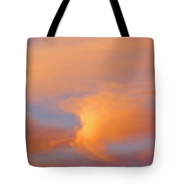 Clouds At Sunrise Tote Bag by Dan Sherwood