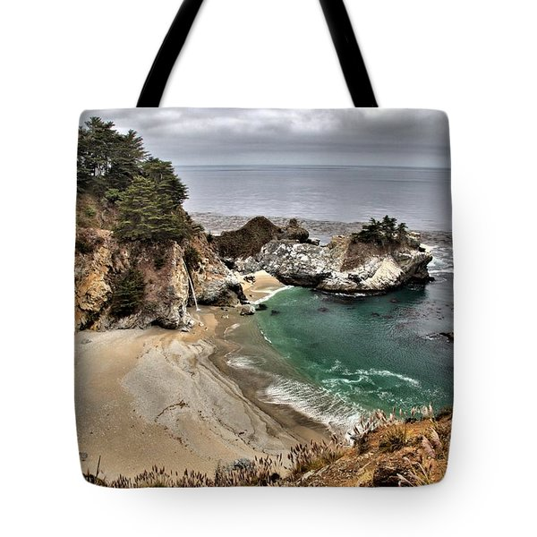 Clouds Over McWay Tote Bag by Adam Jewell