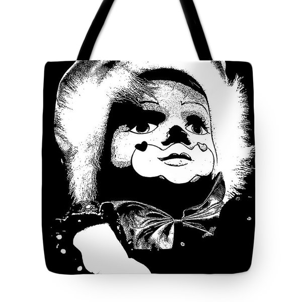 Clowning Around Tote Bag by Linsey Williams