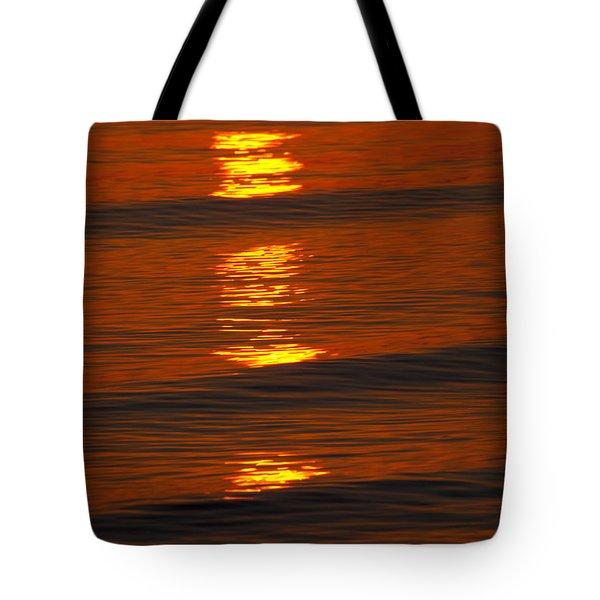 Coastal Abstract Tote Bag by Karol Livote
