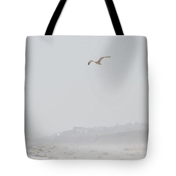 Coastal beach serenity Tote Bag by adspice studios