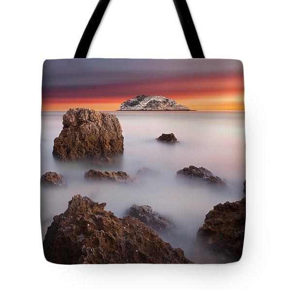 Coastal Glory Tote Bag by Jorge Maia