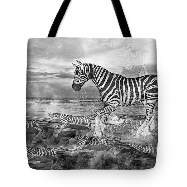 Coastal Stripes II Tote Bag by Betsy C  Knapp