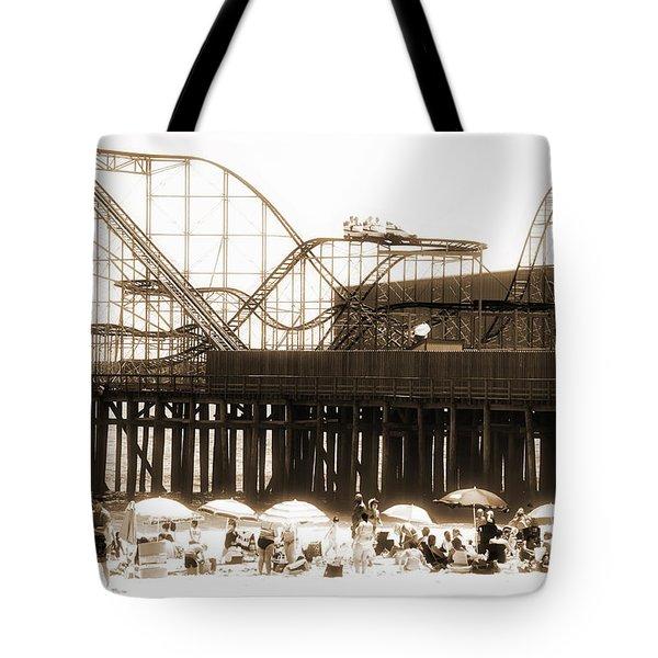 Coaster Ride Tote Bag by John Rizzuto