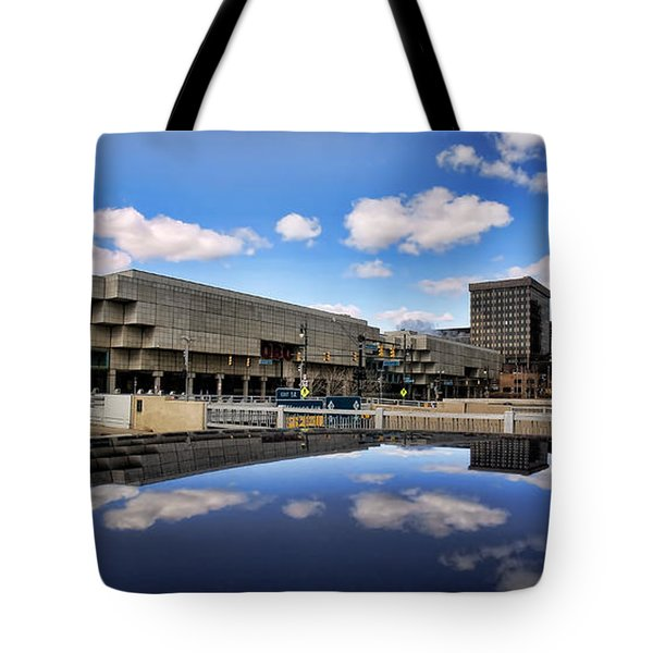 Cobo Hall Detroit Michigan Tote Bag by Gordon Dean II