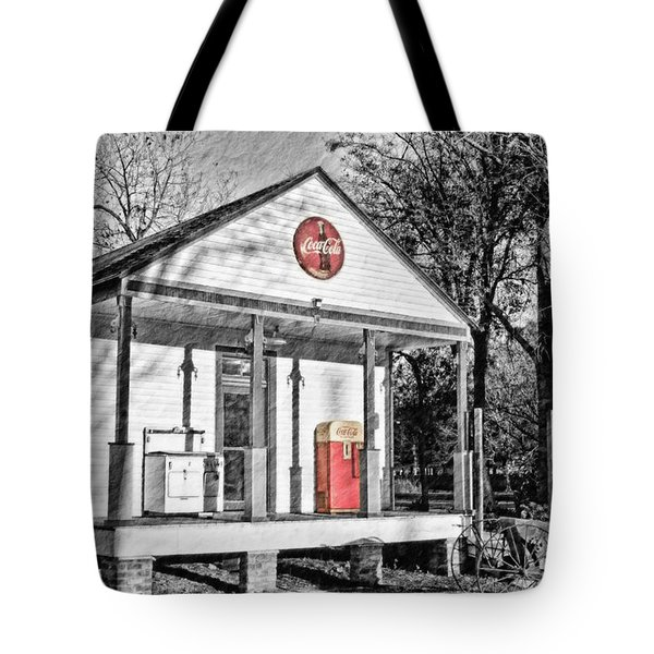 Coca Cola in the Country Tote Bag by Scott Pellegrin
