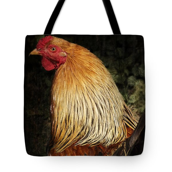 Cock Tote Bag by Angela Doelling AD DESIGN Photo and PhotoArt