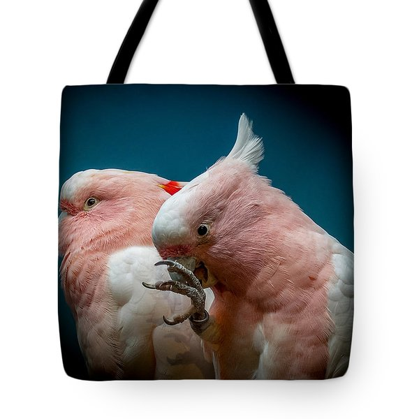 Cockatoos Tote Bag by Ernie Echols