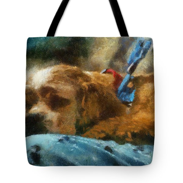 Cocker Spaniel Photo Art 07 Tote Bag by Thomas Woolworth