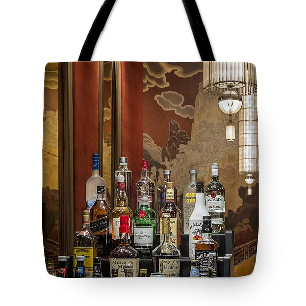 Cocktail Hour Tote Bag by Susan Candelario