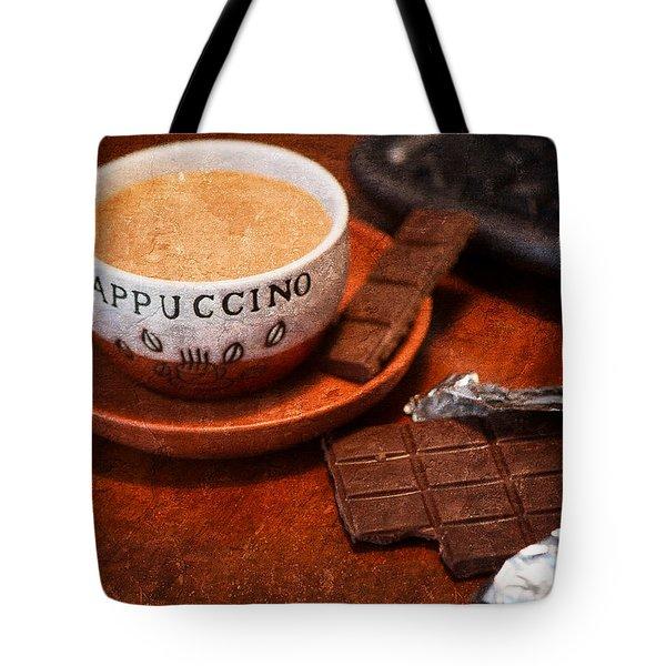 Coffee Break Tote Bag by Alexander Senin