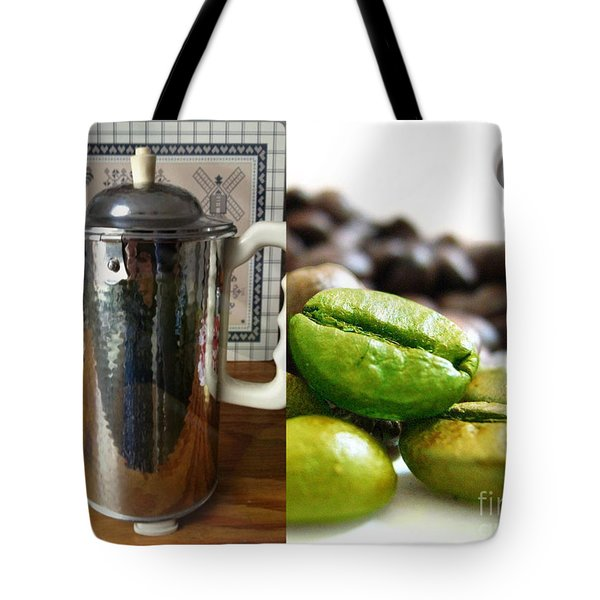 Coffee Coffeee Coffee Tote Bag by M and L Creations