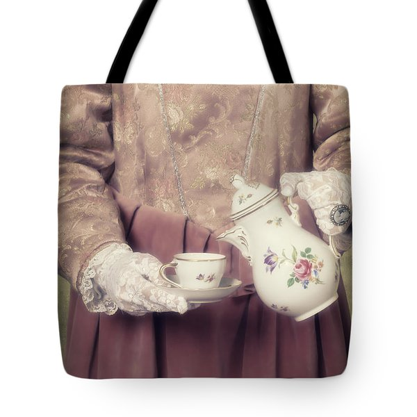 Coffee Time Tote Bag by Joana Kruse