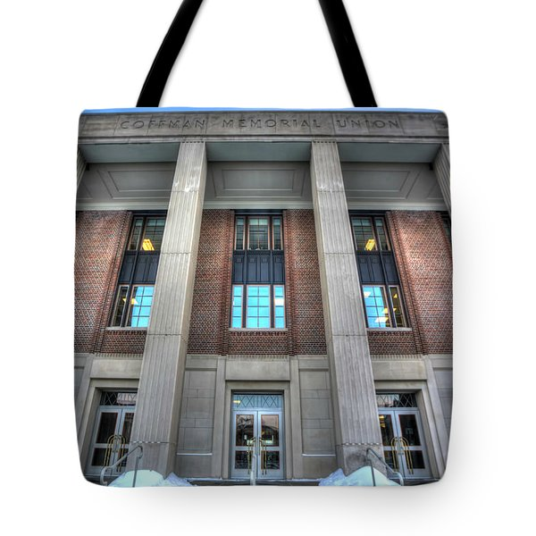 Coffman Memorial Union Tote Bag by Amanda Stadther