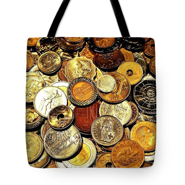 Coinage Tote Bag by Benjamin Yeager