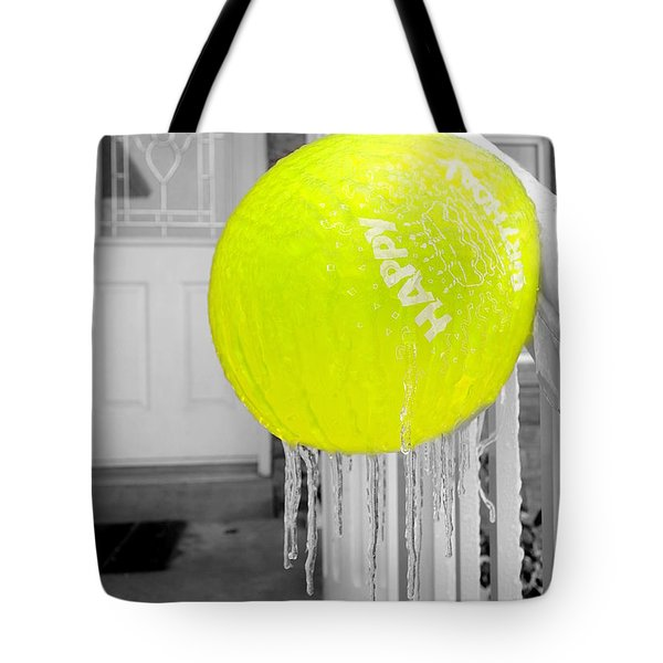 Cold Birthday Tote Bag by Valentino Visentini