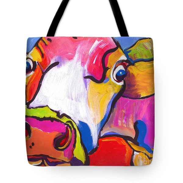 Cold Hands Tote Bag by Pat Saunders-White