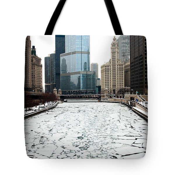 Cold In Color Tote Bag by Joanna Madloch