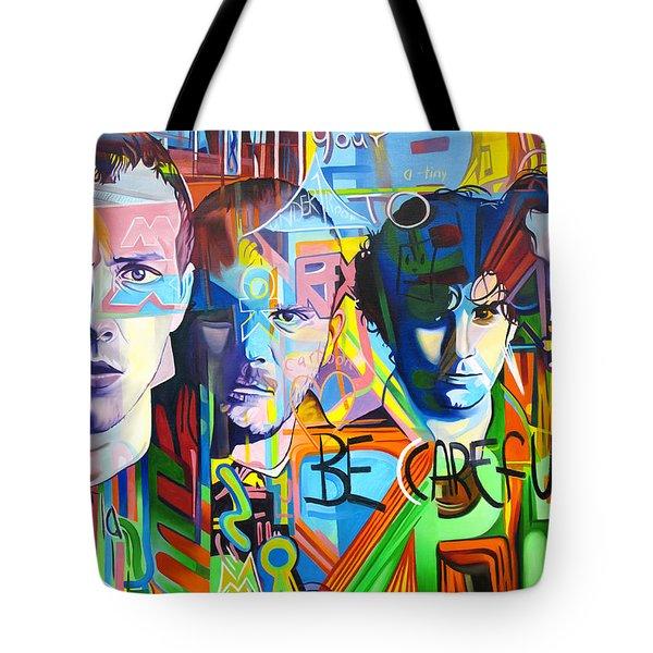 Coldplay Tote Bag by Joshua Morton