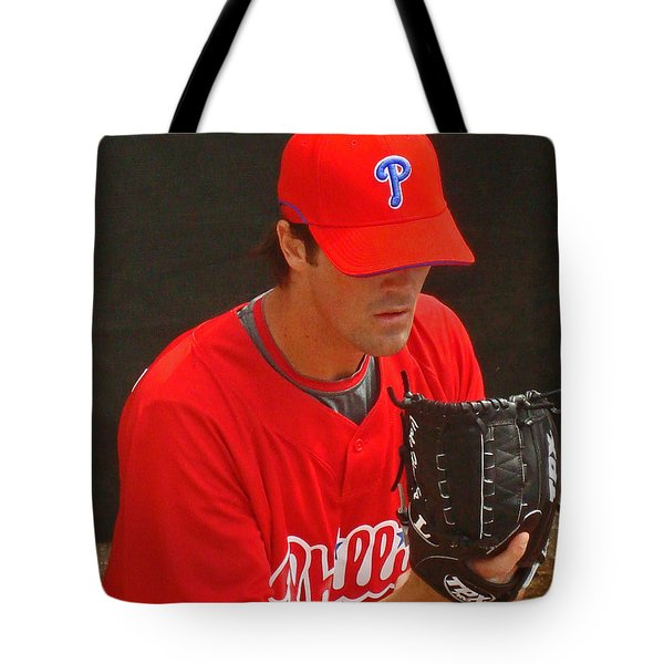 Cole Tote Bag by David Rucker