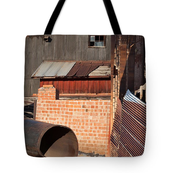 Collage of the Archie Bray Tote Bag by Fran Riley