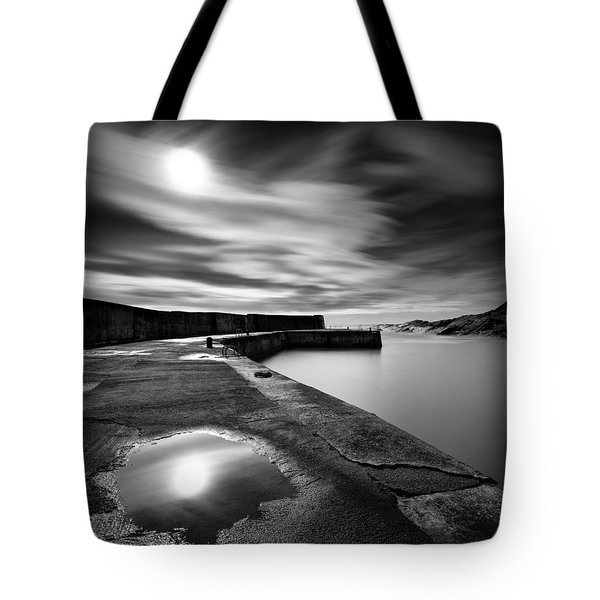 Collieston Breakwater Tote Bag by Dave Bowman