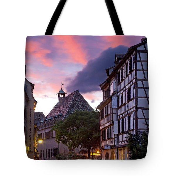 Colmar Twilight Tote Bag by Brian Jannsen