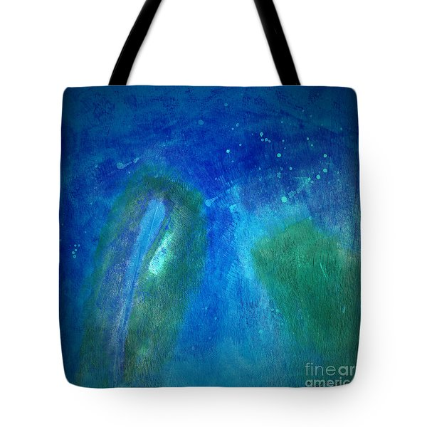 Color Abstraction Viii Tote Bag by David Gordon