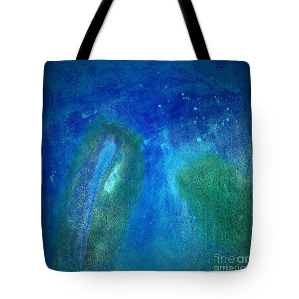 Color Abstraction VIII Tote Bag by David Gordon
